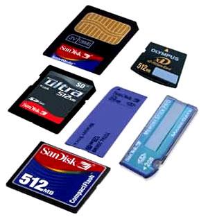 thẻ nhớ bị lỗi