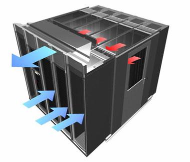 Hệ thống không khí làm mát cho datacenter