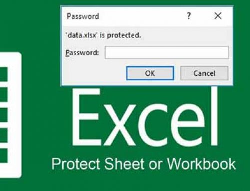 Cách mở dữ liệu Excel bị đặt password